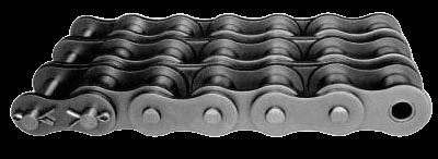 цепи приводные роликовые трехрядные